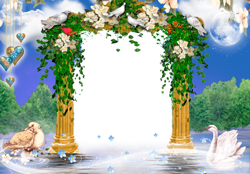 Photo frame - Romantic mood