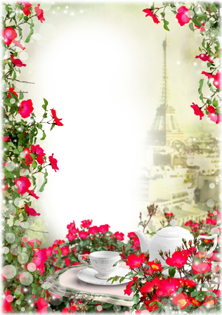 Photo frame - Romantic date in Paris