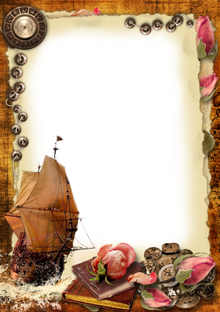 Photo frame - Sails of forgotten ships