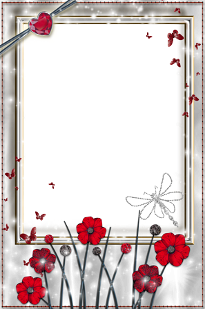 Photo frame - Silver light