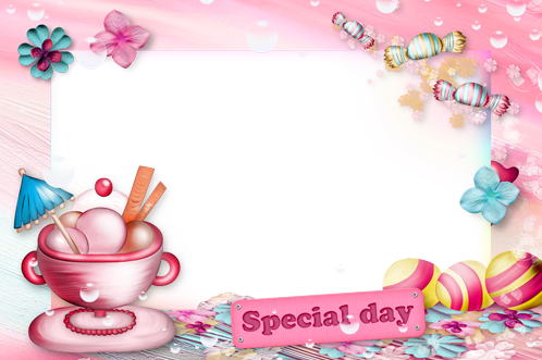 Photo frame - Special day