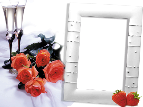 Photo frame - Strawberries