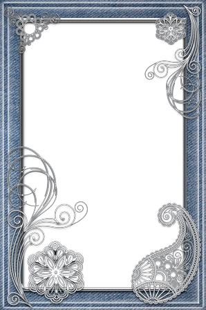 Photo frame - Style and denim