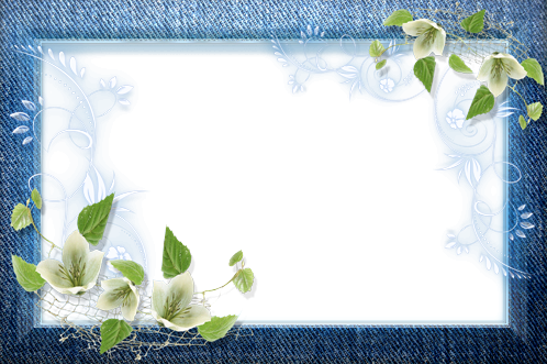 Photo frame - Stylish jeans frame