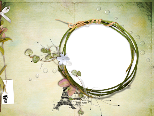 Photo frame - Summer in Paris