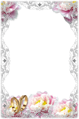 Photo frame - Tender wedding frame