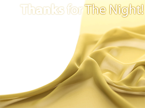 Photo frame - Thank you for the night