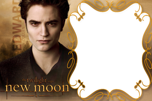 Photo frame - The Twilight saga. Edward Cullen