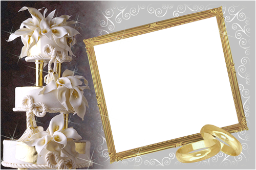Photo frame - Wedding frame