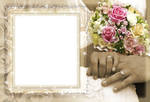 Photo frame - Wedding shine