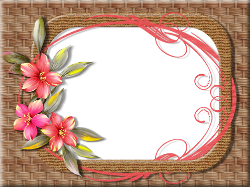 Photo frame - Wickerwork theme