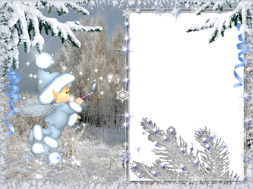 Photo frame - Winter fantasy
