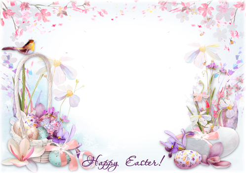 Photo frame - Wishing you a great Easter