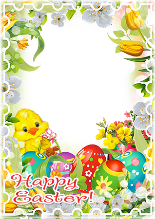 Cornici fotografiche - Wishing you a very Happy Easter