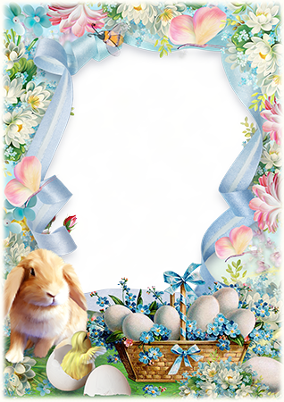 Photo frame - Wish you a pleased Easter