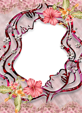 Photo frame - Yin yang theme