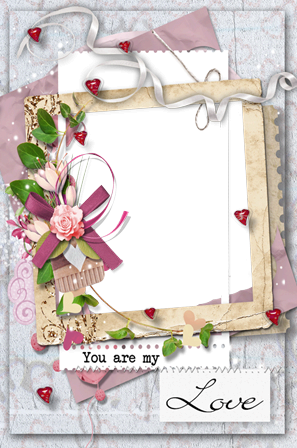 Photo frame - You are my love