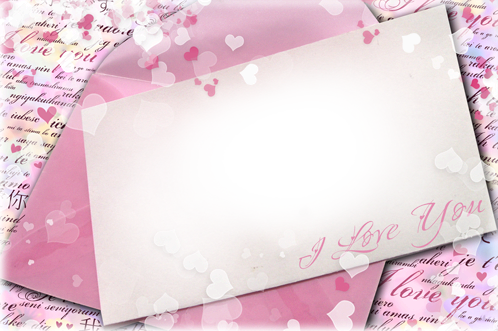 Photo frame - Your valentine's card