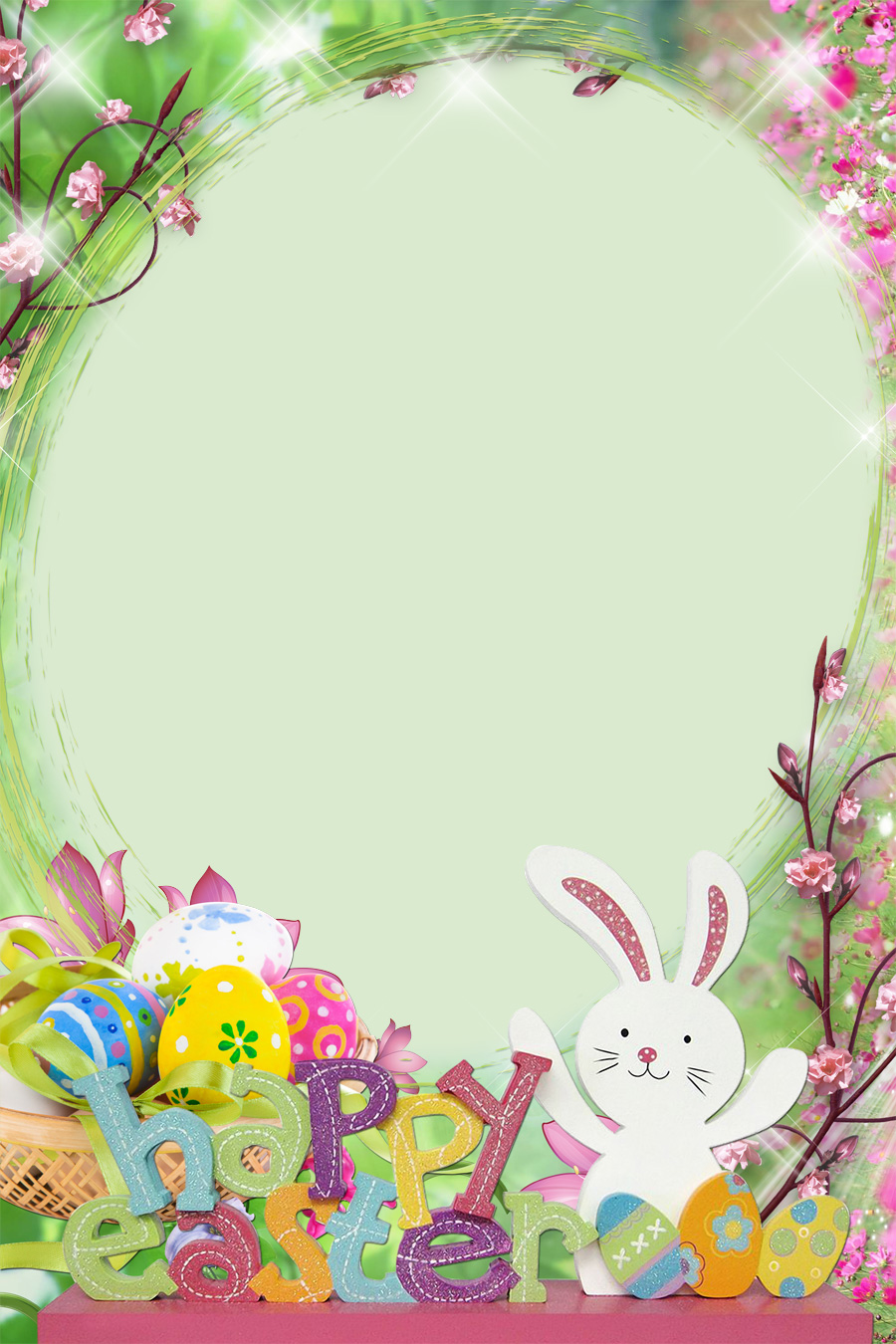happy easter photo frames pick the one you like