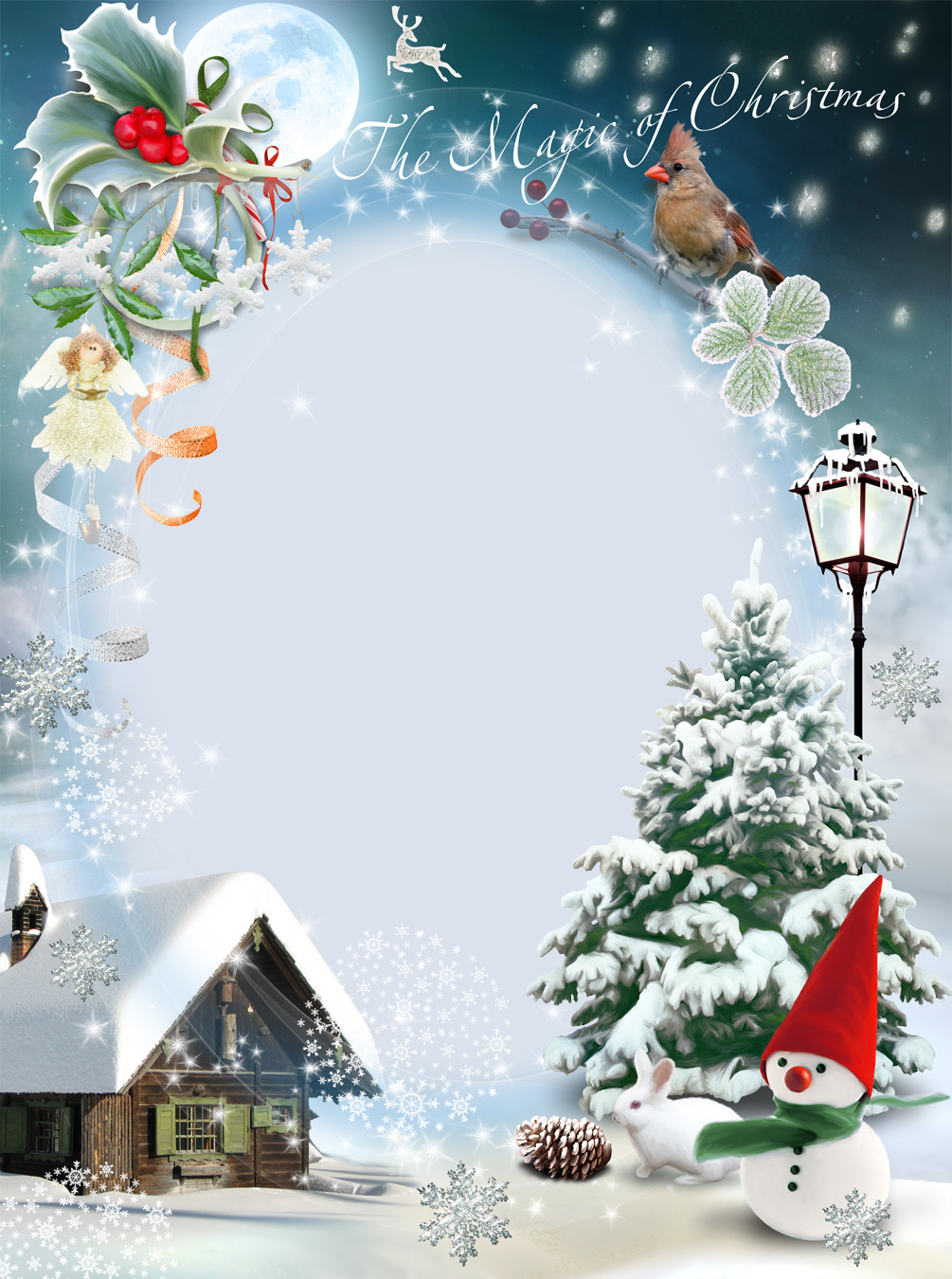 Merry Christmas Photo Frames | LoonaPix – Christmas Photo Editor!