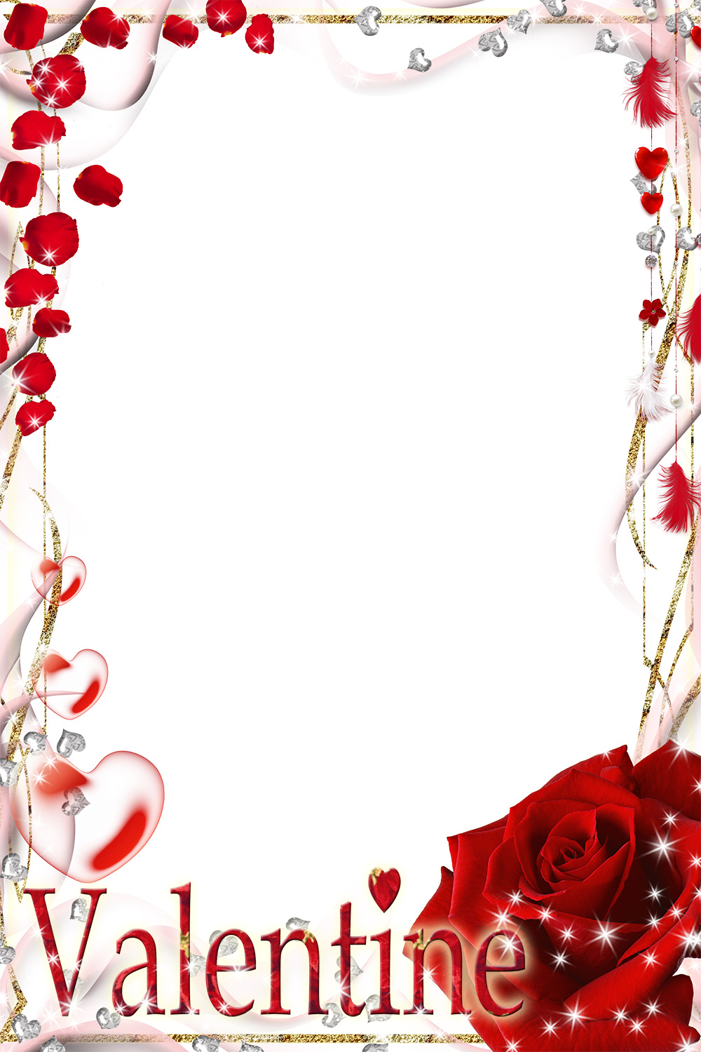 Happy Valentine\'s Day Photo Frames Online - Loonapix.com (60+ frames)