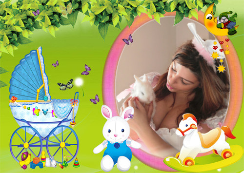 Photo Frames. Children Toys